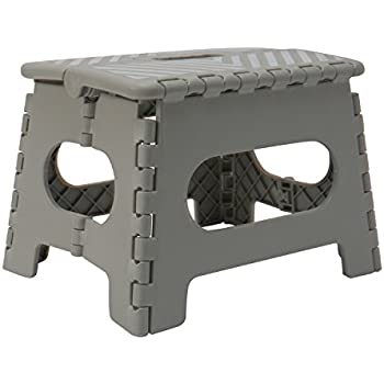 Amazon Com Casafield 9 Quot Folding Step Stool With Handle