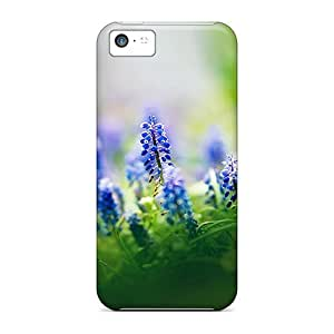 Purecase Protective Case For Iphone 5c(muscari Flowers)