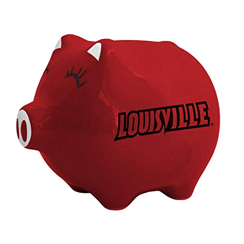 - NCAA Louisville Cardinals Ceramic Piggy Bank