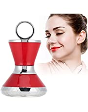 Ion Care Beauty Machine, rejuvenecimiento de la Piel portátil Facial Lifting Blanqueamiento Masajeador contra la Humedad para el rejuvenecimiento Piel/Eliminación de Arrugas/Estiramie(Rojo)