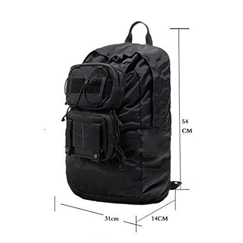 Rucksack 1000D Faltbarer Portable Outdoor Rucksack