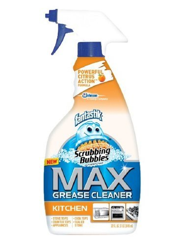 Scrubbing Bubbles Max Grease Cleaner Kitchen 32 fl oz (946 ml), 5 pk by Scrubbing Bubbles (Image #1)