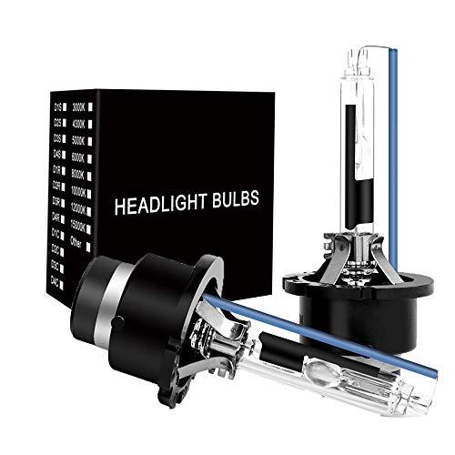 enon HID Headlights Replacement Bulbs 35W 8000K Car Headlight Lamps Head Lights (D2R, 8000K) ()