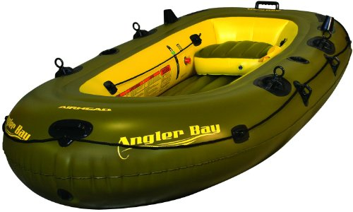 AIRHEAD ANGLER BAY Inflatable Boat, 4 person ()