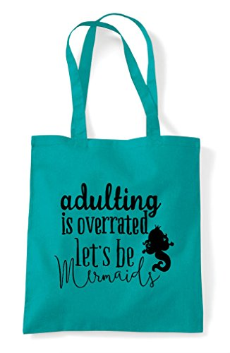 Adulating Tote Funny Me Stuff Look Bag Shopper Emerald Statement Wow And At q87Yt