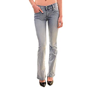 Diesel Women's Authentic Louvboot Jeans Light Blue