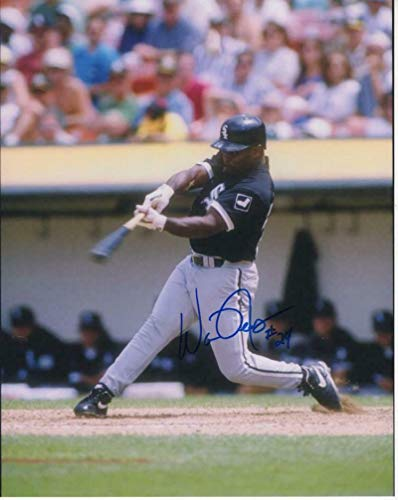 (Warren Newsome Chicago White Sox Signed Autographed 8x10 W/coa - Autographed MLB Photos)