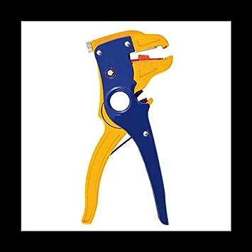 SATKIT Alicate autoajustable cortador y pelador de cables: Amazon.es: Bricolaje y herramientas
