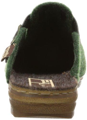 Manitu Home 330104 Damen Pantoffeln Grün (grün 7)