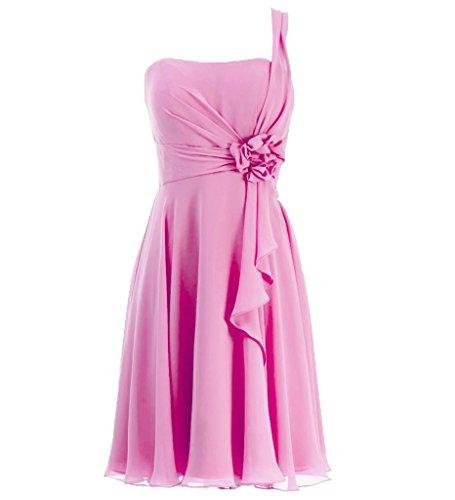 JAEDEN - Vestido - sujetador bandeau - Sin mangas - para mujer Rosa