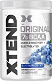 Scivation Xtend BCAA Powder, Branched Chain Amino Acids, BCAAs, Blue Raspberry, 30 Servings (Packaging may vary.)