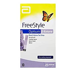 ABBOTT FREESTYLE OPTIUM BLOOD KETONE 10 STRIPS diabetes weight loss