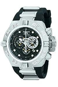 Invicta Men's 6576 Subaqua Noma IV Chronograph Black Polyurethane Watch