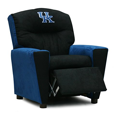 Childrens University of Kentucky Wildcats Recliner Chair With Cup Holder - Upholstered Reclining Armchair For the Young Sports Fan by ASPEN TREE INTERIORS (Image #1)