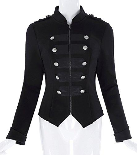 Military Style Jacket Women - 2