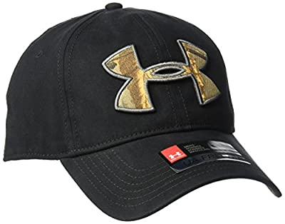 Under Armour Men's Caliber Cap 2.0, Black (002)/Realtree Ap-Xtra, One Size from Under Armour Accessories