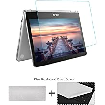 12.5'' Chromebook Screen Protector Tempered Glass/HD Clear Anti-Scratch Protective Film for ASUS Chromebook Flip (C302CA-DHM4 12.5-Inch Touchscreen)