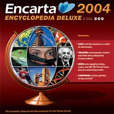 Microsoft Encarta 2004 Encyclopedia Deluxe Reference