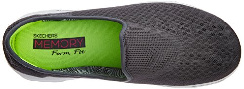 Skechers Gowalk Lichtgewicht Slip-on Sneaker Mix Grijs
