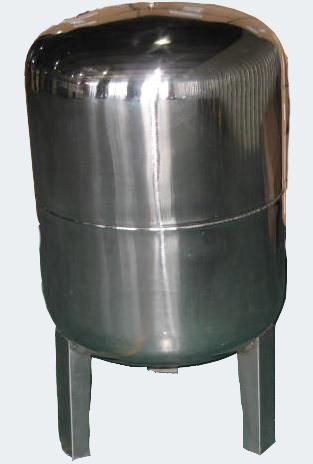 50L Edelstahl Ausdehnungsgefäß für Hauswasserwerke und Druckerhöhungsanlagen mit EPDM Membran
