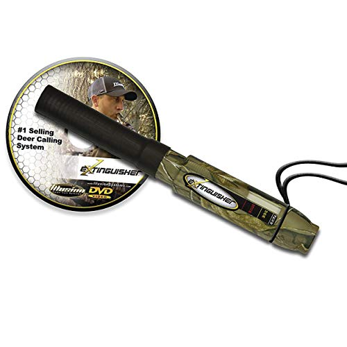Extinguisher Deer Call - All-in-one Deer Calling System with Instructional DVD - Camouflage