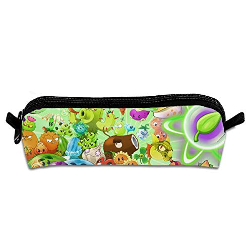 FANGHUABATHRHSQ Plants Vs Zombies 2 Unisex Student Pencil Case Pen Box Stationery Bag Big Capacity Buggy Bags with Zipper for Girl Boy]()