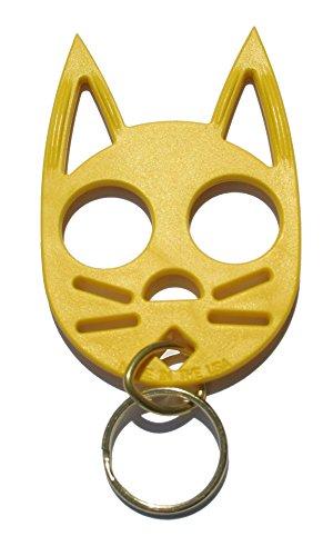 Wild Cat Defense Keychain-Yellow