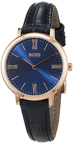 Hugo Boss Women's 1502392 Blue Leather Quartz Watch