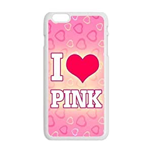 Danny Store Hardshell Cell Phone Cover Case for New iphone 6 4.7, Love Pink
