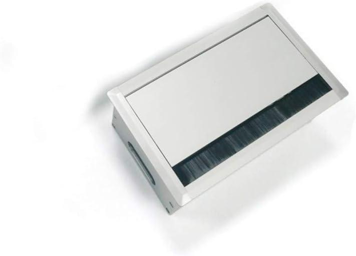 Cadre Couverture s/érie T1/blanc alpin UP Prise dantenne 1/trou SAT End Fiche F - Tout-en-un Insert encastr/é