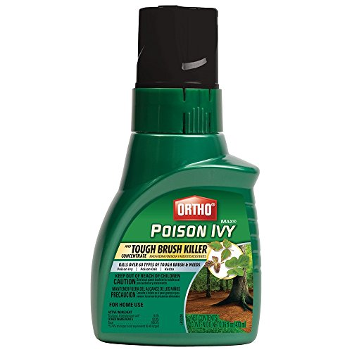 Ortho Max Poison Concentrate Ivy & Tough Brush Killer (Case of 6), 16 oz 16 Ounce Tough Brush