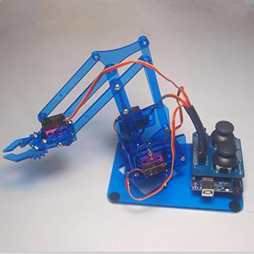 Zamtac DIY mearm Joystick Robot arm kit Mechanical arm Robot Gripper Acrylic Joystick Button Controller