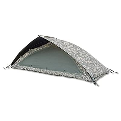 US Army Issue Universal Improved Combat Shelter Tent Complete ACU Digital NSN 8340-01-521-6438