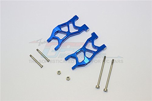 Axial Yeti Jr. SCORE Trophy Truck (AX90052) Upgrade Parts Aluminum Front Arms - 1Pr Set Blue
