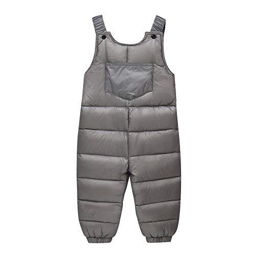 GorNorriss Baby Girl Boys Winter Thick Warm Suspenders Snowsuit Strap Pants Overalls