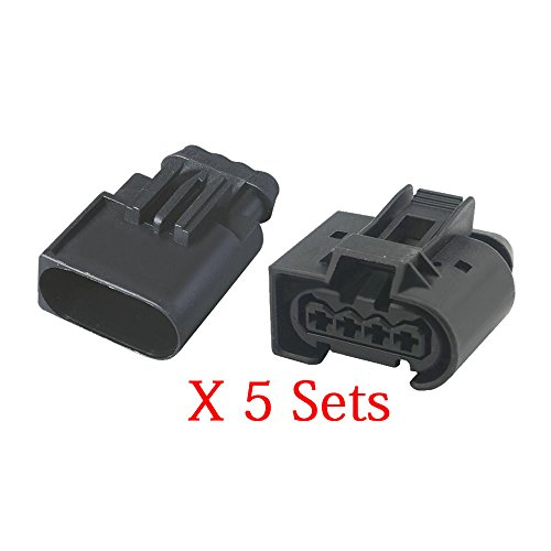 5 Sets Inlet pressure sensor plug-in car connector Chery A3 with end plug DJ7048-3.5-11/21