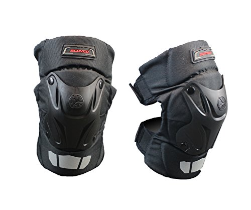 Scoyco K15-2 Auto Racing PP Shell Knee Pads Protective Gear Off Road Motorcycle Motocross Outdoor Sports Safety Protector