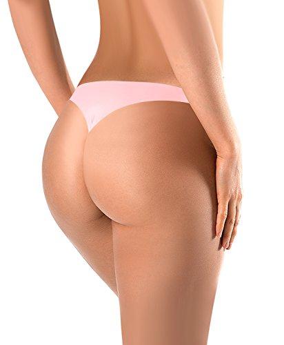 BUBBLELIME Sports Thongs For Women Nylon Spandex Breathe Panties