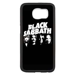 Negro S UF41IU4 funda Samsung Galaxy S6 teléfono celular caso funda T7DB7E8XT