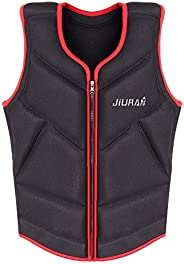 Life Jackets for Adult/Children, Swimming Vest Safety Breathable Jacket Buoyancy Aids for Fishing, Surfing, Di
