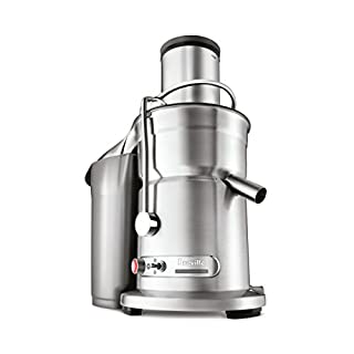 Breville 800JEXL Juice Fountain Elite Centrifugal Juicer, Brushed Stainless Steel