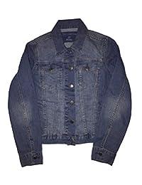 The Limited Women's Classic Fit Stretch Denim Jacket (L, indigo)