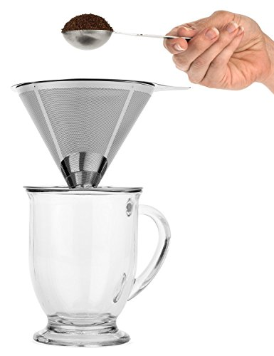 Pour Over Coffee Maker Stand : Brave Hand Drip Pour Over Coffee Maker with Stand Clever Brewer with eBay