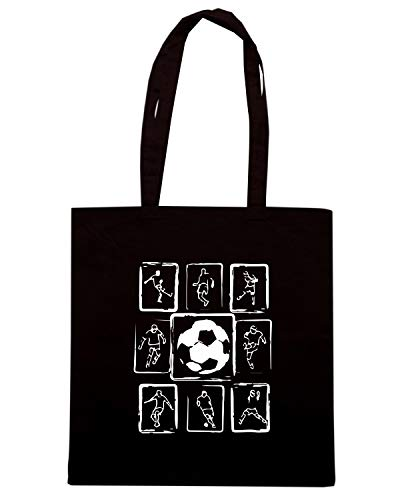 DESIGN COOL Nera Shopper HOODIE Shirt Borsa WC1141 SOCCER Speed XwxU0z4n