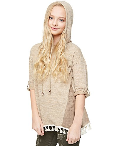 Hooded Long Sleeve Lace - 7