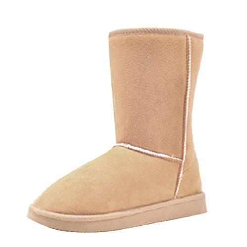Hee Grand Schuhe Schnee Regen Stiefel Winter Boots Beige