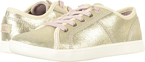 UGG Kids Girl's Irvin Metallic (Little Kid/Big Kid) Gold 5 Big Kid (Gold Metallic Kid Footwear)