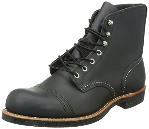 Red Wing Heritage Iron Ranger 6-Inch Boot, Black Harness,...