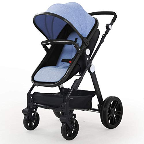 Baby Stroller Newborn Carriage Infant Reversible Bassinet to Luxury Toddler