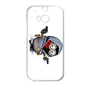Happy Minions Design Pesonalized Creative Phone Case For HTC M8